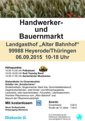 06. Sept. 2015 Heyerode Bauernmarkt