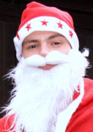 Artist Santa