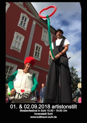 1./2.Sept 2018 Strassenfestival Suhl