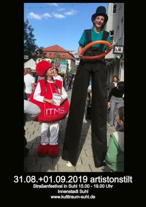 31.8.+1.9.2019 Straßenfestival Suhl