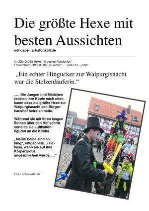 30.April 2017 Hexe & Co Walpurgisnacht ZM